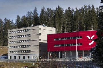 Gebäude laut neuen Brandschutzvorschriften