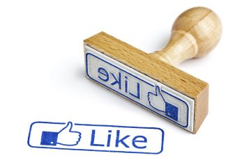 Facebook-Like Stempel