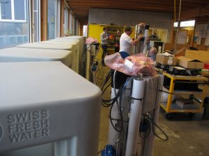 Trinkwasseraufbereitung, Centre d'integration professionelle